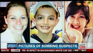 Krystle Campbell, Martin Richard, and Lü Lingzi, the three fatalities of the Boston Marathon bombing (accidentally being labeled as suspects on CNN). Image by fallsroad.