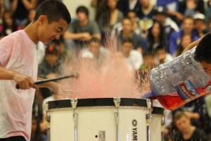 Drumline performance from 2012 end of the year assembly.