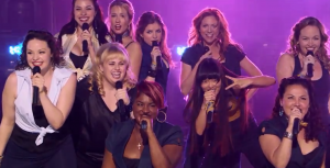 "The ending to the Bella's final performance in ""Pitch Perfect."""
