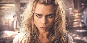 The Bad Wolf (Billie Piper) is the conscience of the Moment.