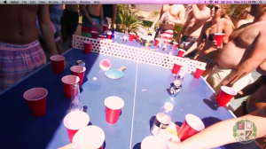 I'm Shmacked beer pong