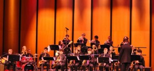 Members of the Jazz band.