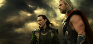 "An image from the trailer for ""Thor: The Dark World."" Image taken by Lizzy Doctorov."