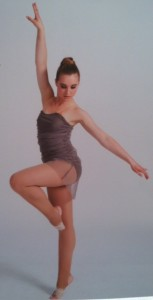Professional picture taken of Julia Semmler for Heartbeat Dance Academy