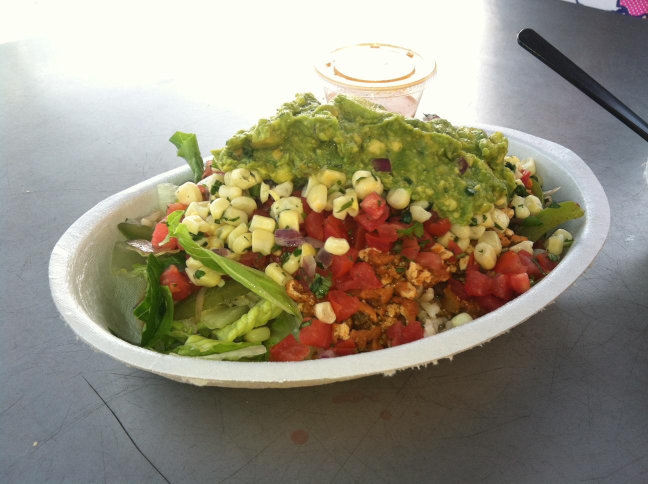 Very organized salad