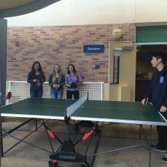 Ping pong club: Serving up fun