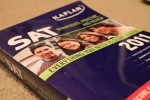 An SAT prep book.
