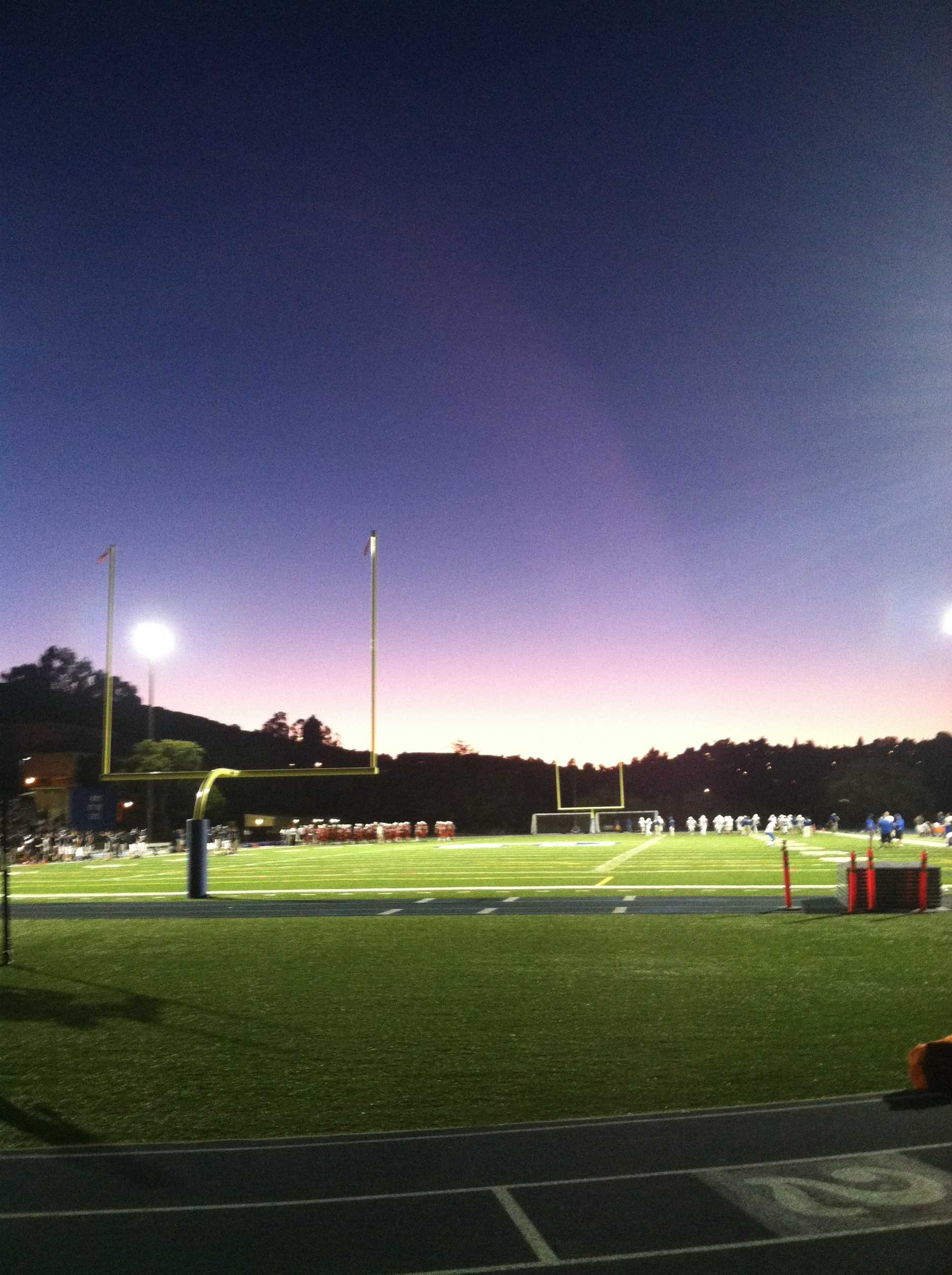 taken at the scrimmage on Friday Aug. 3
