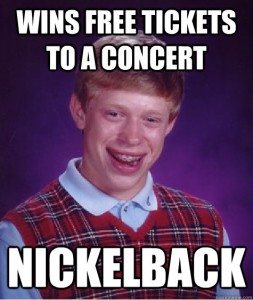 Bad Luck Brian struck with the worst luck, yet again.