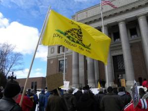 A Tea Party Rally in Washington (Fibonacci Blue-Flickr)