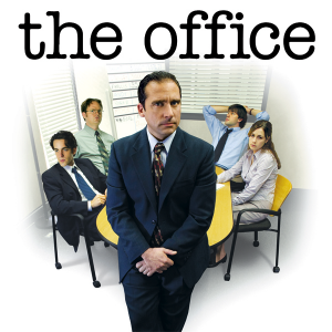 The season one promotional poster for The Office