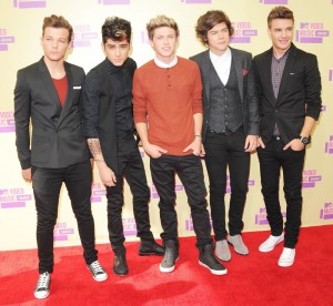 The group, One Direction from the show, The X Factor.