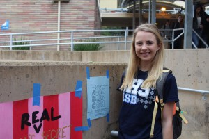 ASB member and Junior Anna Shutovska is excited to take the position of ASB Vice President next year.