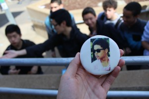 Senior Class Vice President candidate Nico Camerino got creative with his campaign and invested in buying these cookies.