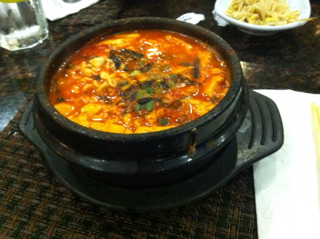 Spicy Version of Tofu Soup