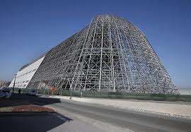 Google plans to rebuild Hangar One and restore the two other hangars at Moffett Field.